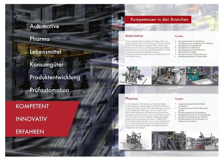 Imagebroschüre der IKS Neufeld GmbH